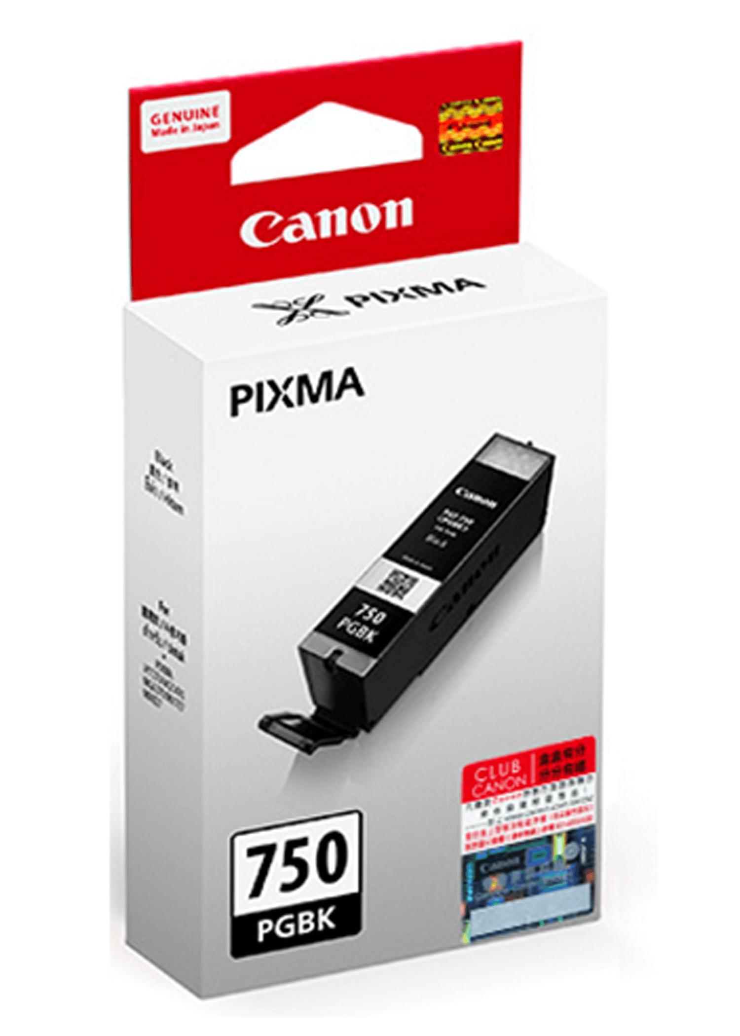 ตลับหมึกอิงค์เจ็ท Canon PGI-750 PGBK สีดำ