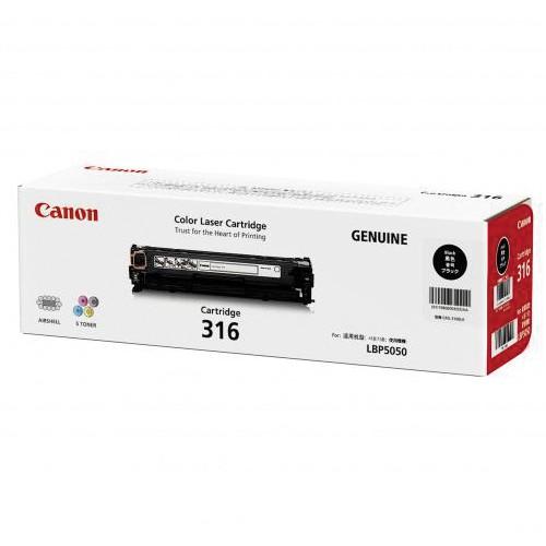 ตลับหมึก Canon Cartridge 316BK ดำ