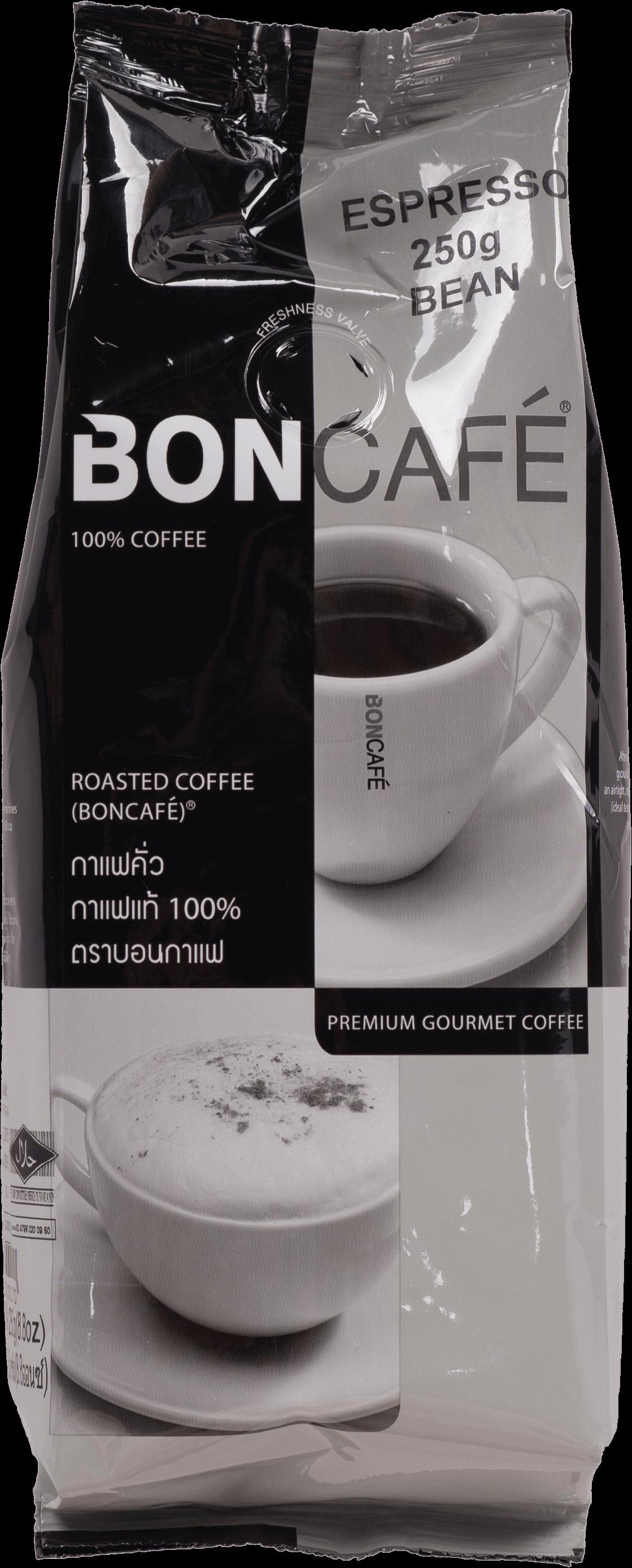 กาแฟคั่วบด Boncafe  Espresso Catering 250 กรัม (40 ถุง/ลัง)