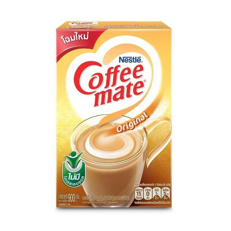 ครีมเทียมชนิดกล่อง Coffee Mate (No cholesterol) 900 กรัม