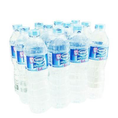 น้ำดื่ม เนสเล่ เพียวไลวฟ์ 600 มล.