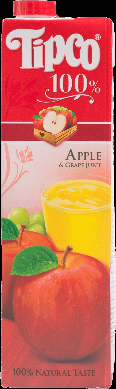 น้ำแอปเปิ้ล Tipco 1,000 มล.
