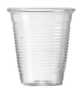 แก้วน้ำพลาสติกใส ขนาด 6ออนซ์ (2000ใบ/ลัง)