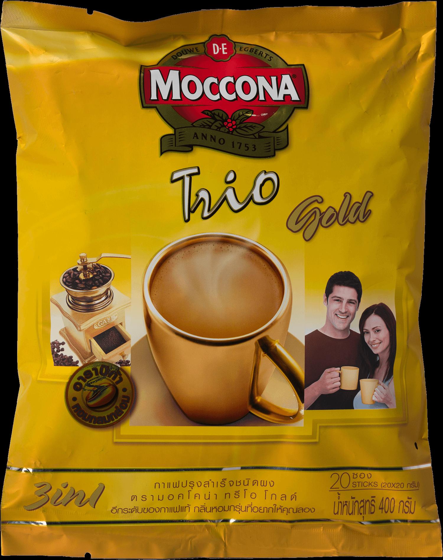 กาแฟ มอคโคน่า ทรีโอ 3in1   Royal Gold
