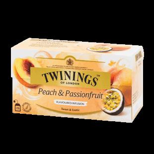 ชาซอง ทไวนิงส์ Peach & Passion Fruit