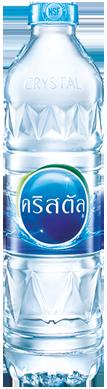 น้ำดื่ม ตราคริสตัล (600cc.x12)