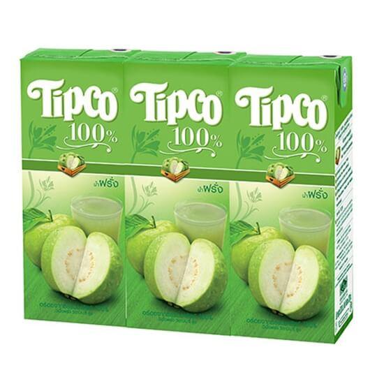 ทิปโก้ น้ำฝรั่ง 200ml แพ็ค 3 กล่อง