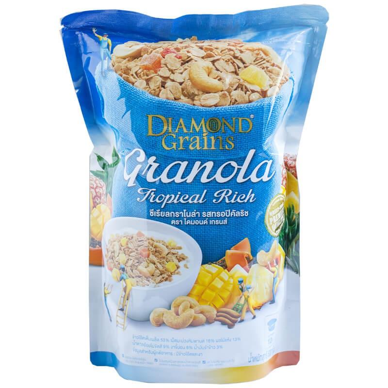 Diamond Grains Tropical Rich 500g (ผลไม้อบแห้ง)