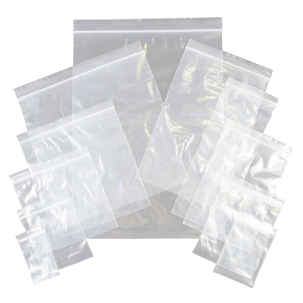 ถุงพลาสติกปากซิป 8x12 นิ้ว (20x30cm.)