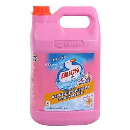 น้ำยาความสะอาดห้องน้ำ เป็ด 3500ml. ชมพู