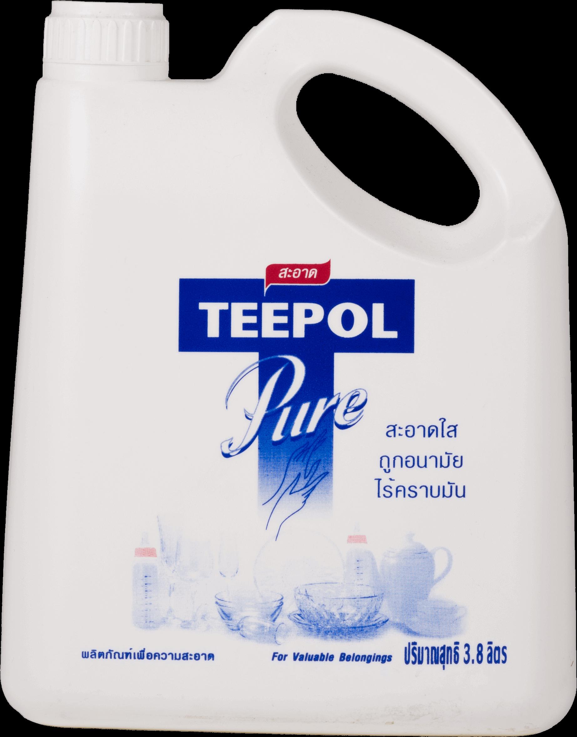น้ำยาล้างจาน ทีโพล์ เพียว 3.8 ลิตร