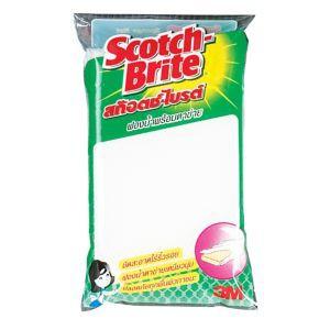 ฟองน้ำหุ้มตาข่ายสีขาว Scotch-Brite