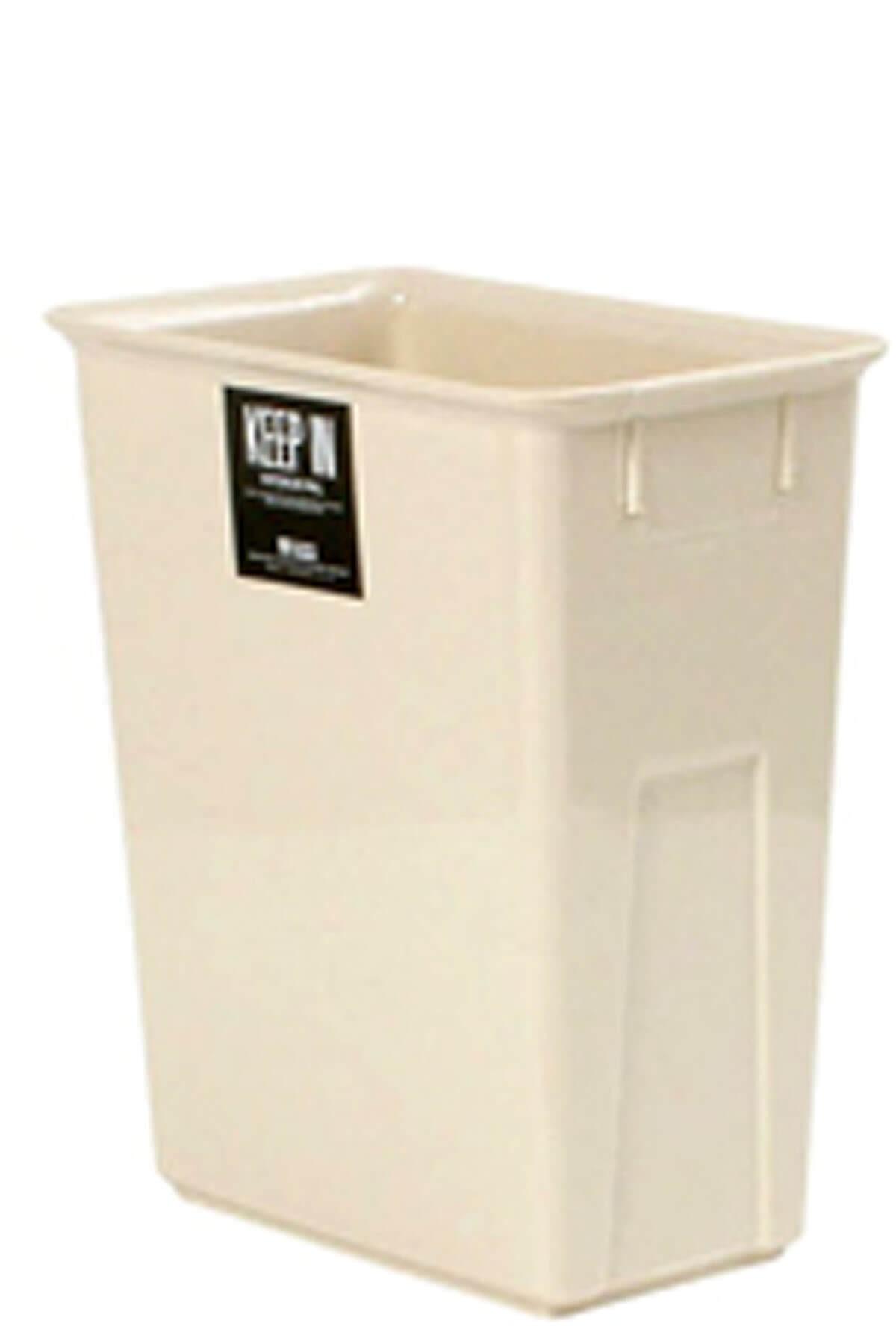 ถังขยะพลาสติก สแตนดาร์ด RW9078 (11 ลิตร) สีครีม