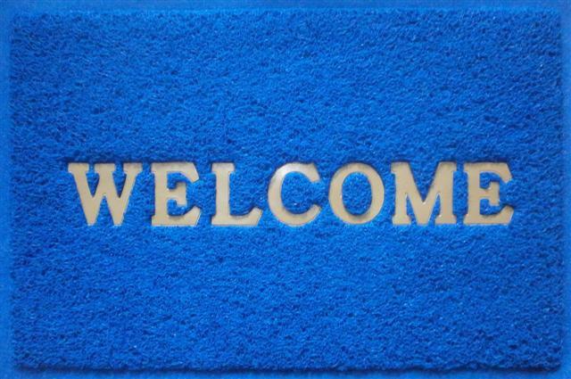 พรมดักฝุ่น Welcome 150x120cm