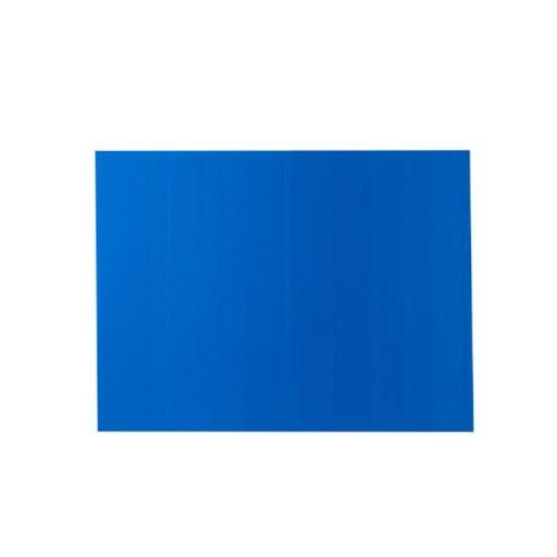 ฟีเจอร์บอร์ด (3mm.) 130x245cm. สีน้ำเงิน