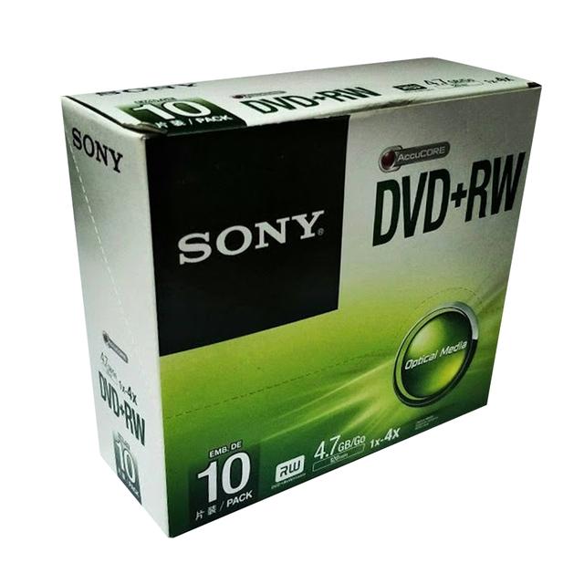DVD-R พร้อมตลับ SONY 1X-16X 4.7GB/120MIN