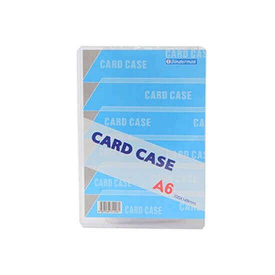 ซองพลาสติกแข็ง Card Case BINDERMAX A6