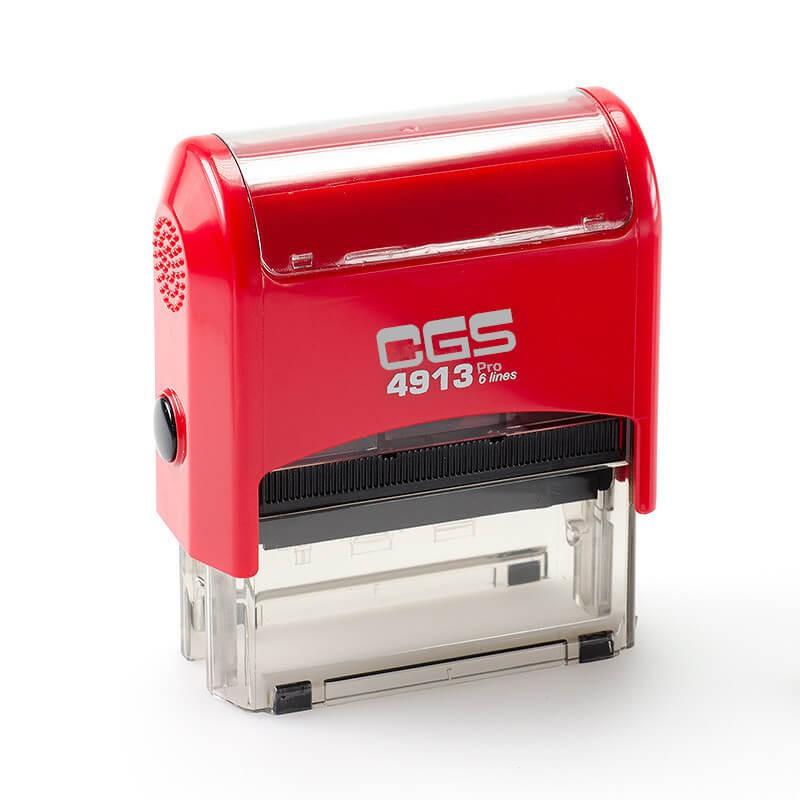 ตรายางหมึกในตัว CGS-4913 BU หมึกน้ำเงิน