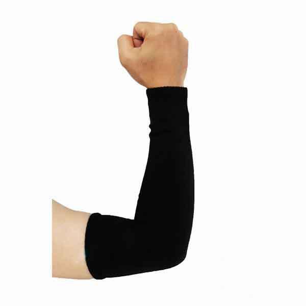 ปลอกแขนผ้ายืด สีดำ