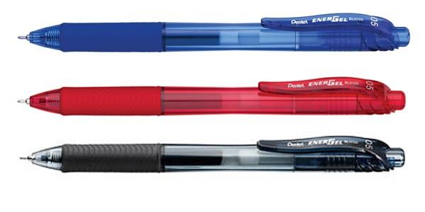 ปากกาหมึกเจล Pentel Energel-X BLN 105 สีแดง0.5 มม.