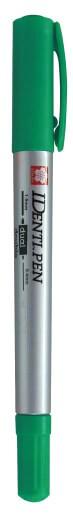 ปากกาเคมี SAKURA IDenti-Pen XYKT-44101 สีเขียว 0.3 มม./1.2 มม.