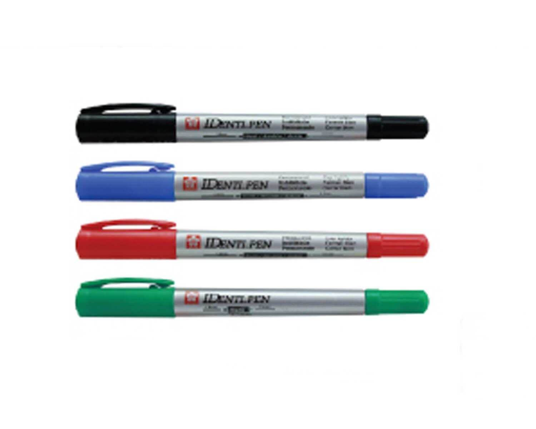 ปากกาเคมี SAKURA IDenti-Pen XYKT-44101 สีเหลือง 0.3 มม./1.2 มม.