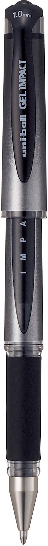 ปากกาหมึกเจล uni Signo Impact UM-153S สีดำ 1.0 มม.