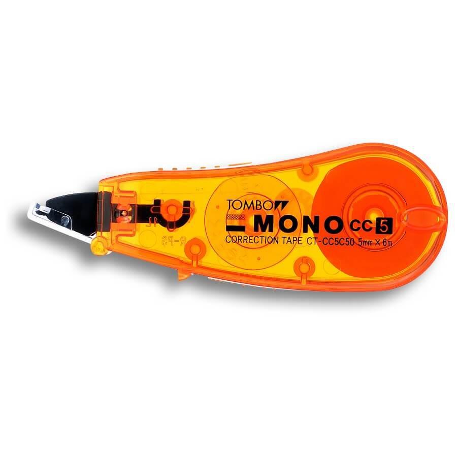 เทปลบคำผิดTombow MONO CT-CC5C50 (สีส้ม)