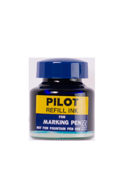 หมึกเติมปากกาเคมี Pilot สีน้ำเงิน 30 cc.