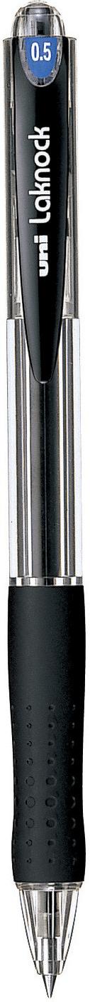 ปากกาลูกลื่นแบบกด uni Laknock SN-100 สีดำ 0.5 มม.