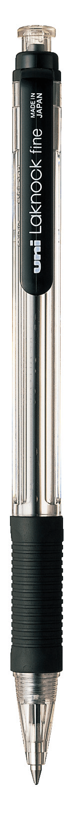 ปากกาลูกลื่น uni Laknock Fine SN-101 สีดำ 0.7 มม.
