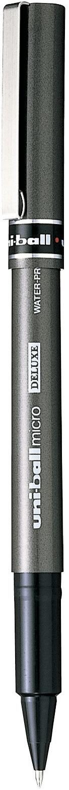 ปากกาโรลเลอร์บอล uni Micro Deluxe UB-155 สีดำ 0.5 มม.
