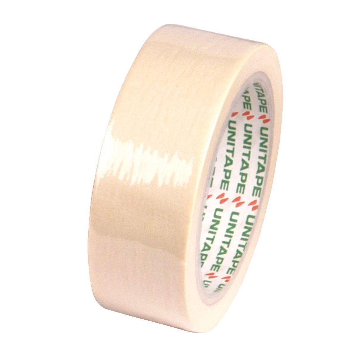 กระดาษกาวย่น UNITAPE 1 1/2 นิ้วx25 หลา