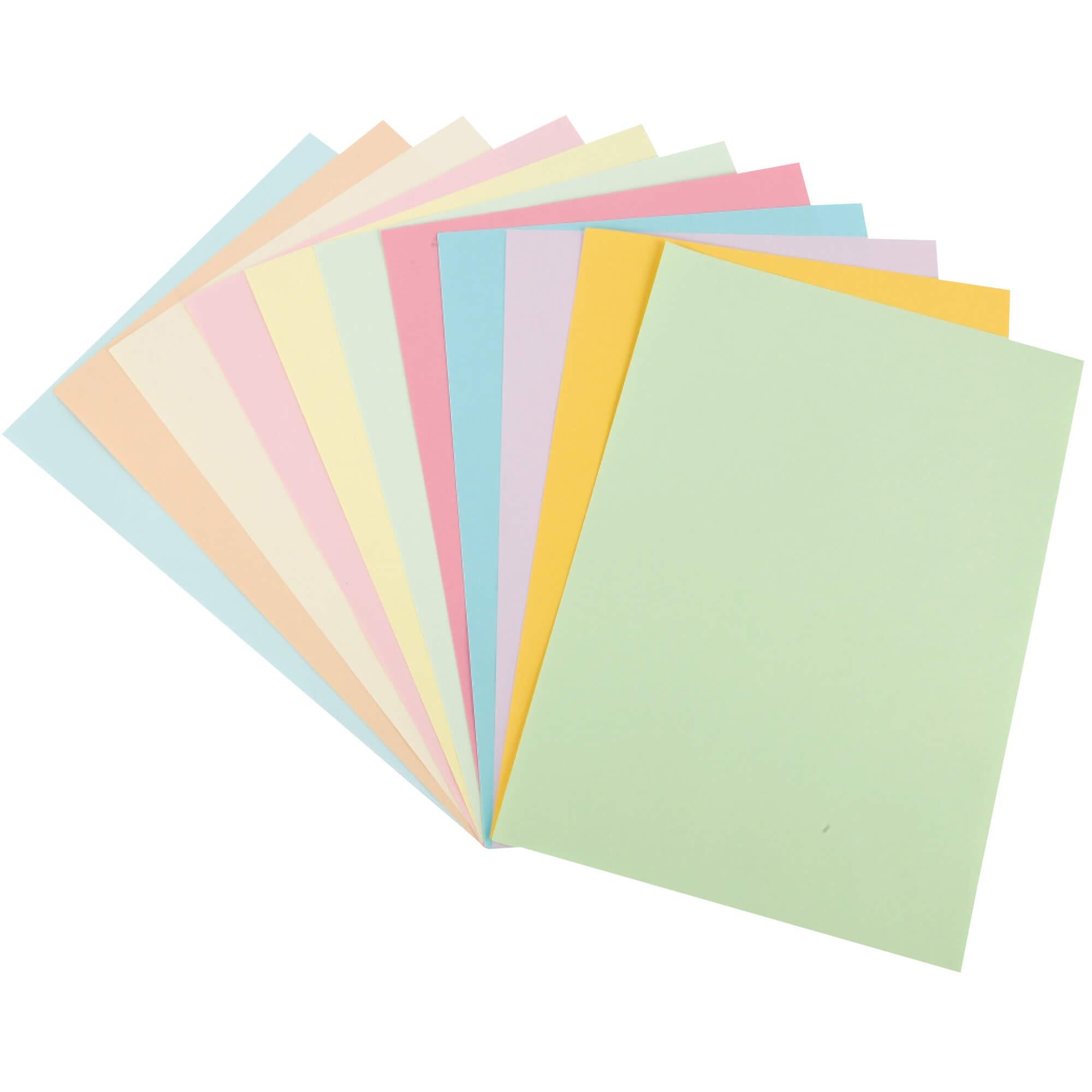 กระดาษการ์ดสี Venus สีฟ้า A4 / 120 แกรม