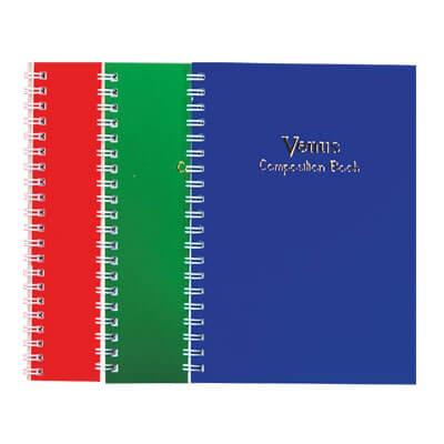 สมุดบันทึกสันลวด Venus 18/30 100 แกรม (1x30)