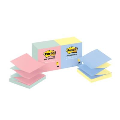 กระดาษโน๊ตกาวในตัว Post-it  ป๊อปอัพ อัลตร้าไบรท์สลับสี R330-N