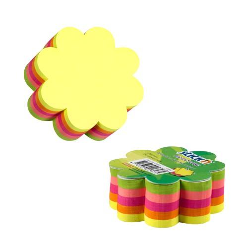 กระดาษโน๊ตกาวในตัว Stick'n 21357 ดอกไม้ 5 สี