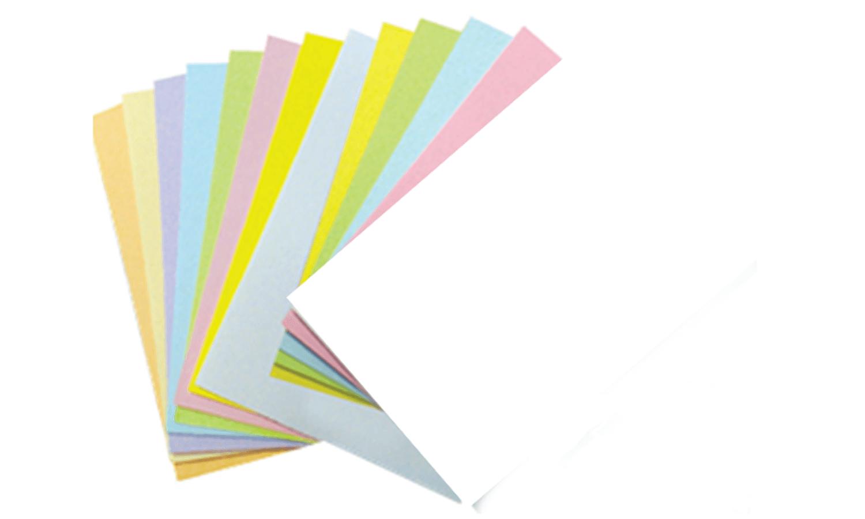 กระดาษการ์ดสี UPC 120 แกรม 5x9 สีชมพู (1x200)