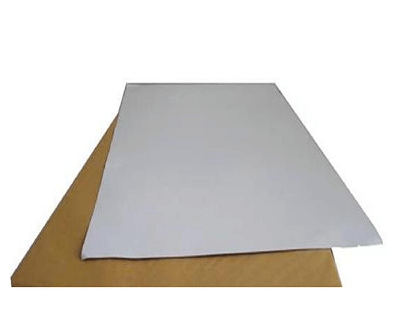 กระดาษโปสเตอร์สี 2 หน้า สีขาว
