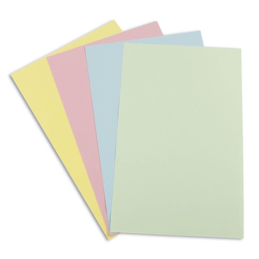 กระดาษการ์ดสี Venus สีชมพู A4 / 150 แกรม (1x180)