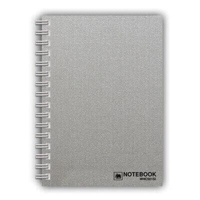 สมุดโน๊ตสันลวด ช้าง WHC-502 A5 70แกรม (150แผ่น)