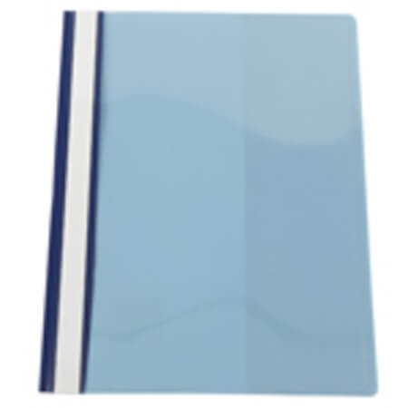 แฟ้มเจาะพลาสติก Bennon LW-320 สีน้ำเงิน A4