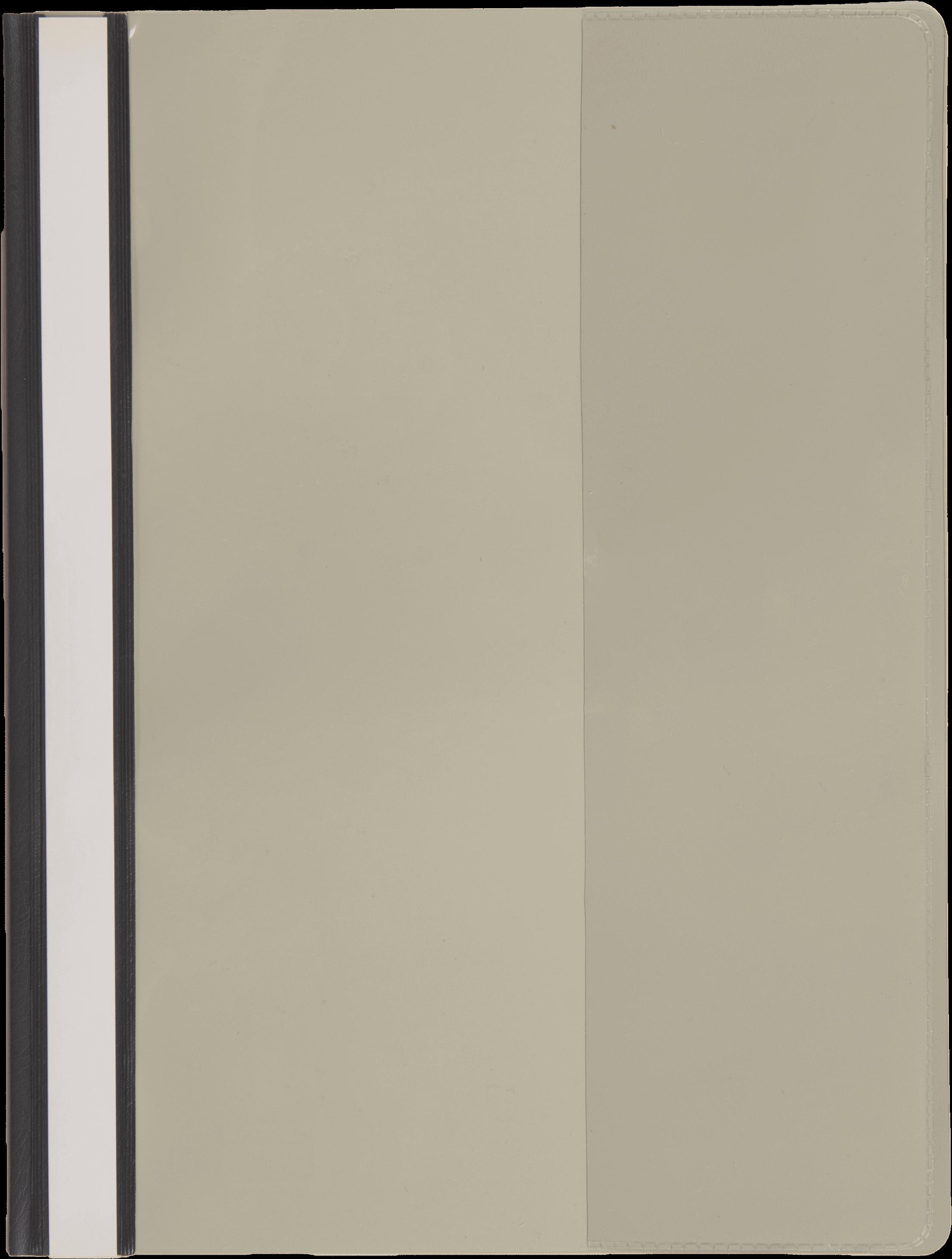 แฟ้มเจาะพลาสติก Bennon LW-320 สีเทา A4