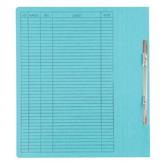 แฟ้มเจาะกระดาษ ตราใบโพธิ์ 403 สีฟ้า A4