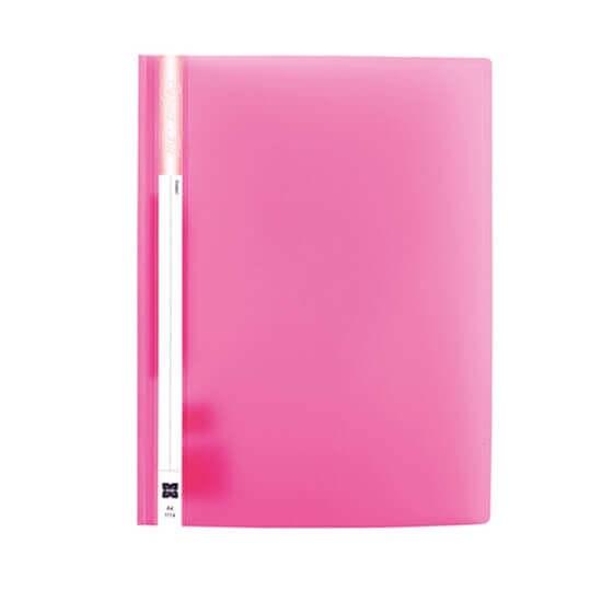 แฟ้มเจาะพลาสติก Xing 1114 สีชมพู A4