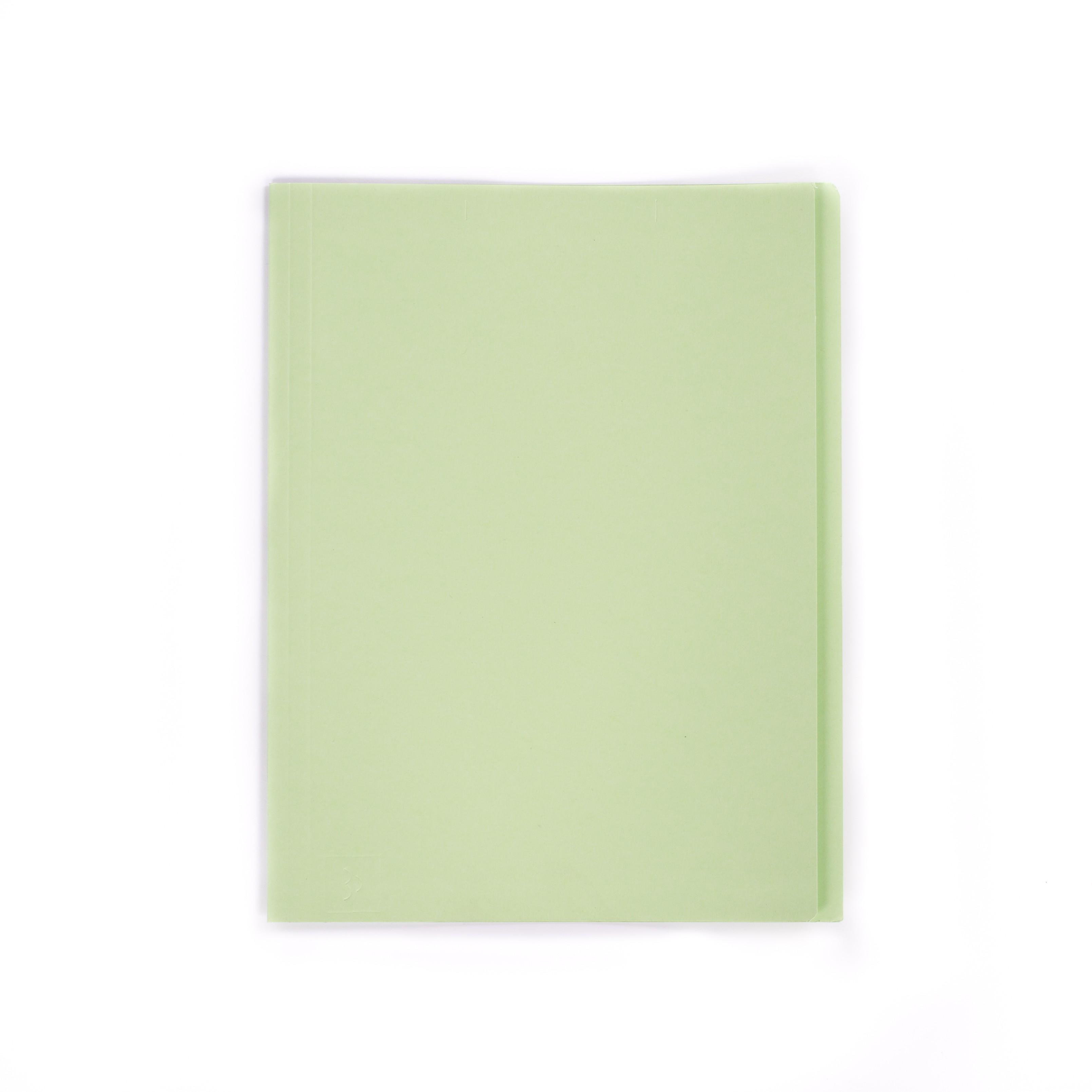 แฟ้มพับกระดาษ ตราใบโพธิ์ สีเขียว A4