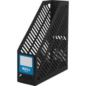 กล่องใส่เอกสารพลาสติก 1 ช่อง Wago WG-301 สีดำ
