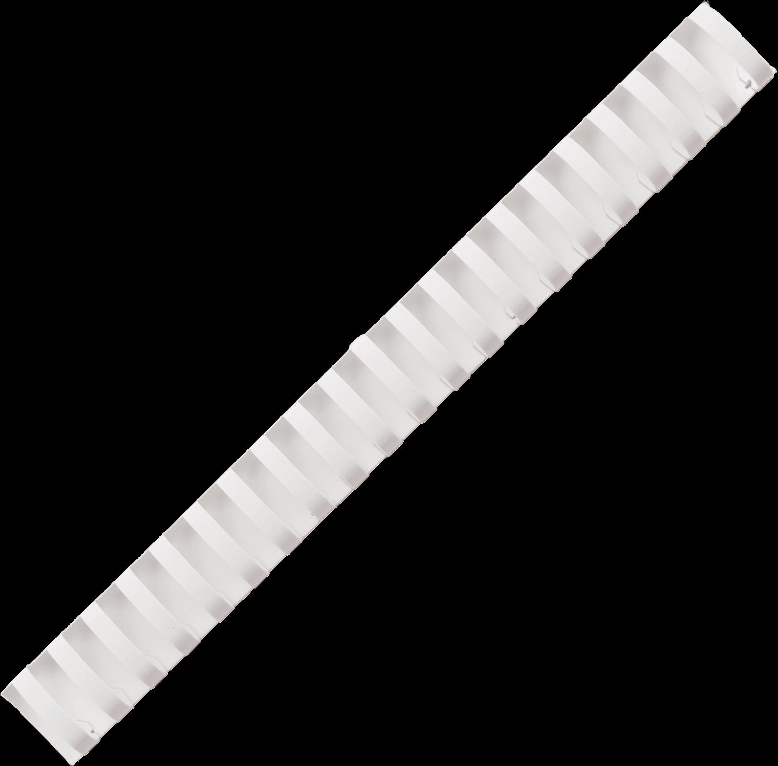 สันห่วงพลาสติก TMP 32 มม. สีขาว