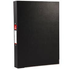 แฟ้ม 2 ห่วง ตราม้า H-925 สีดำ F/C/สัน 3.5 ซม.