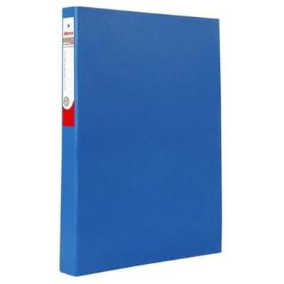 แฟ้ม 2 ห่วง ตราม้า H-925 สีน้ำเงิน F/C/สัน 3.5 ซม.